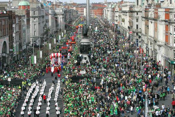 St Patrick Dublin Parade